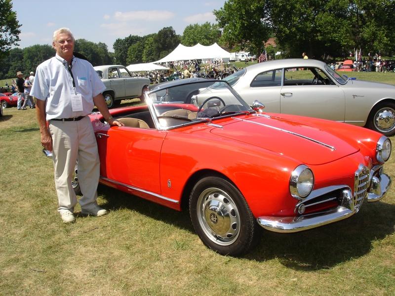 1959 Alfa Romeo Giulietta Spider Veloce