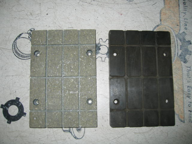 Sample Custom Brake Lining Milled