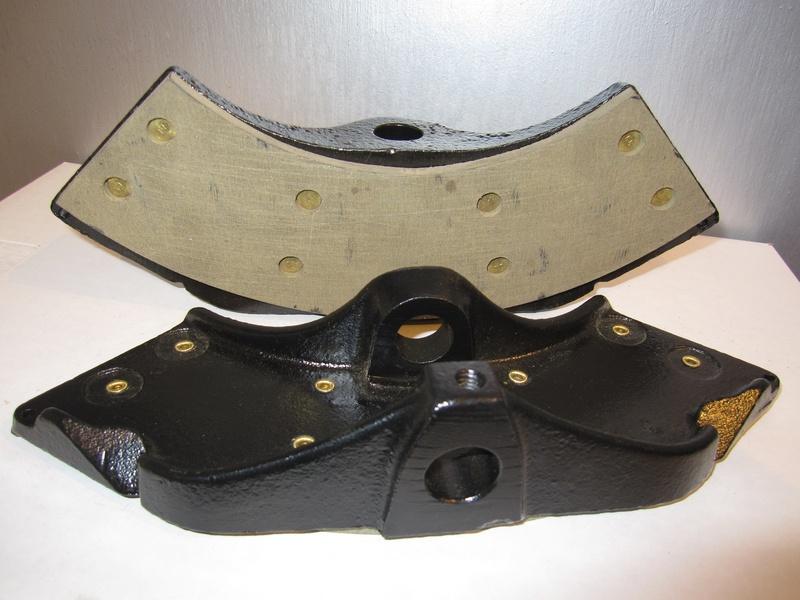Relined Tru-Stop Emergency Brake Disc Pads