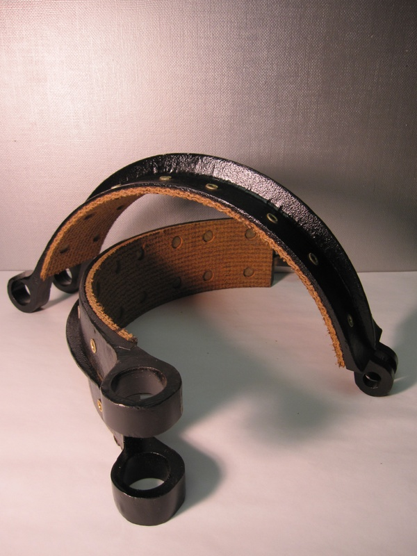Relined 1900-1901 Mercedes Benz Simplex Brake Shoes